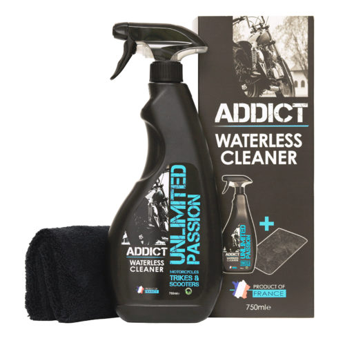 Unpass Addict waterless cleaner